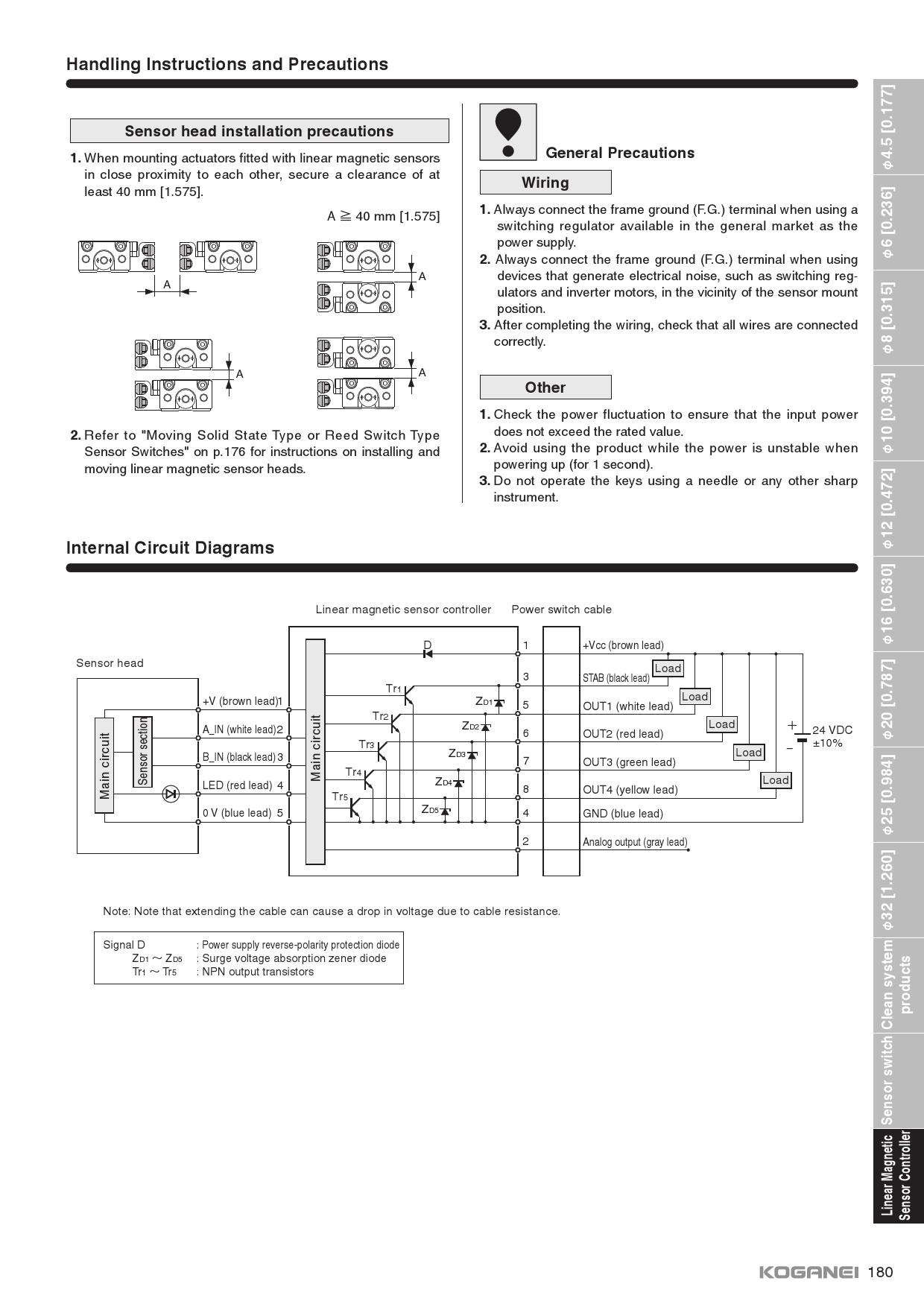 Product Detail Koganei Corporation Switch Wiring 4 Wires Npn Proximity Diagram Darren Prevnextprevnext